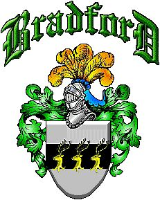 This is the Bradford Family Crest from an Irish Line.